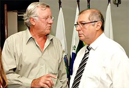 Amadeu Greca e Ministro Paulo Bernardo