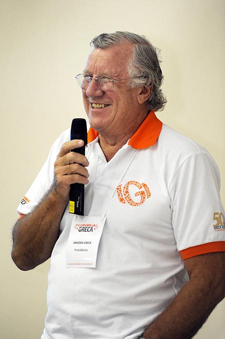 Amadeu Greca, Presidente GRECA Distribuidora de Asfaltos